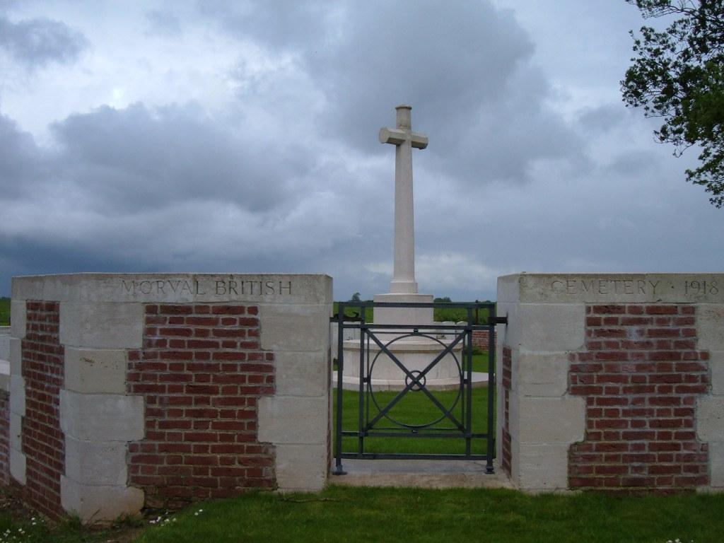 MORVAL BRITISH CEMETERY - CWGC