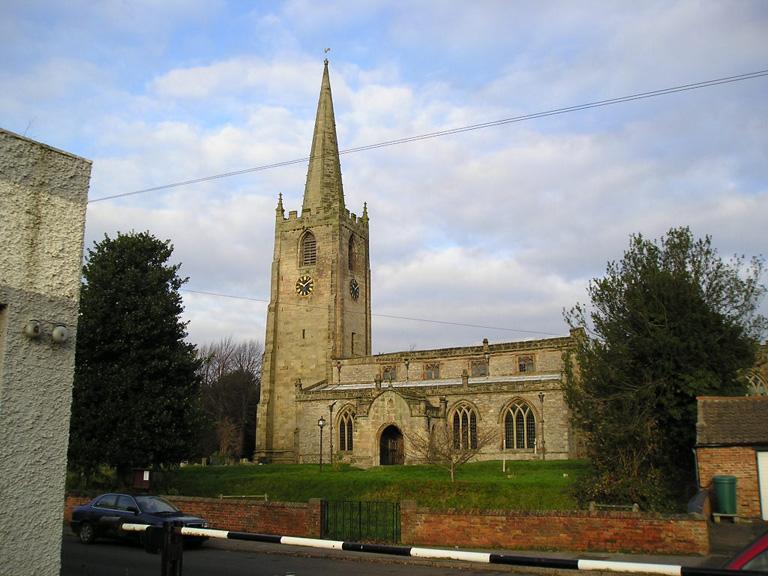 BUNNY (ST. MARY) CHURCHYARD - CWGC