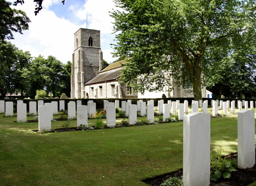 GREAT BIRCHAM (ST. MARY) CHURCHYARD - CWGC