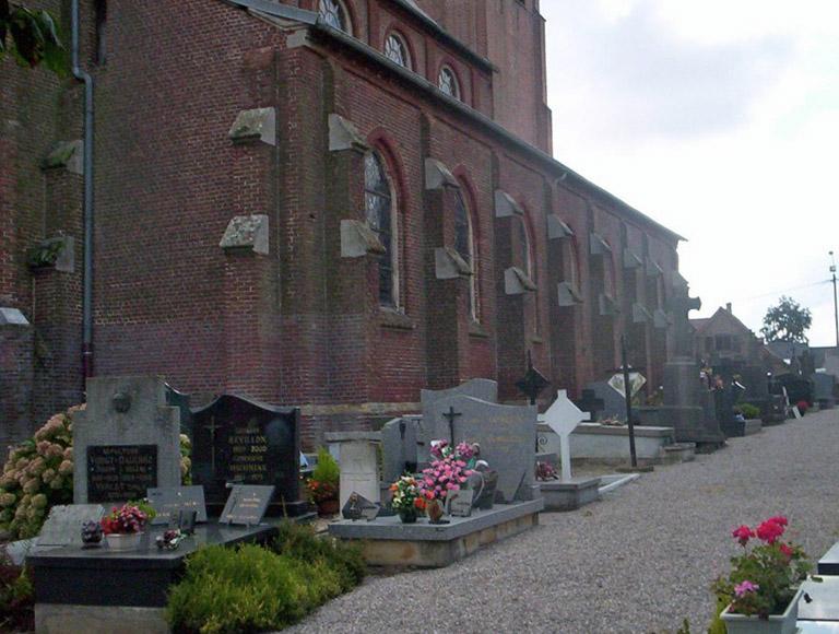 STE. MARIE-CAPPEL CHURCHYARD - CWGC