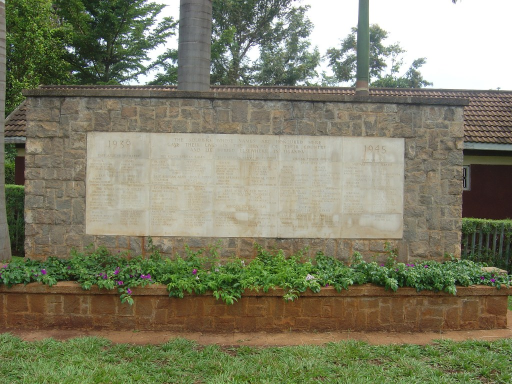 JINJA MEMORIAL - CWGC