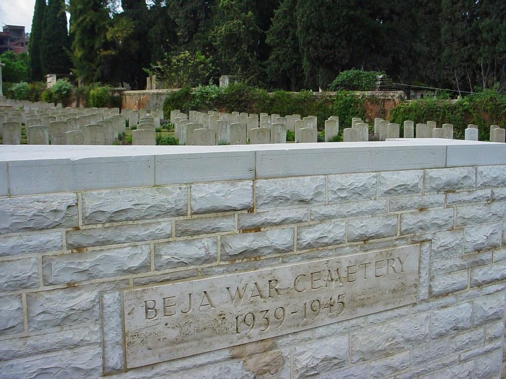 BEJA WAR CEMETERY - CWGC