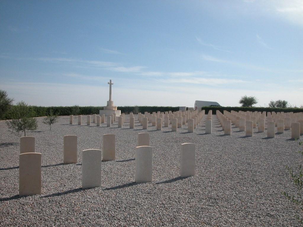 OUED ZARGA WAR CEMETERY - CWGC
