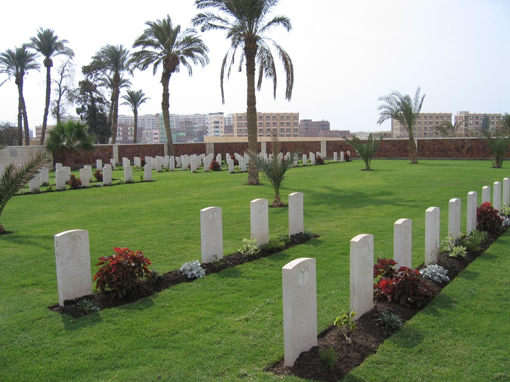 SUEZ AFRICAN AND INDIAN ARMY WAR CEMETERY - CWGC