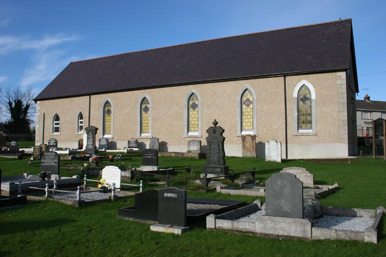 CULNADY PRESBYTERIAN CHURCHYARD - CWGC