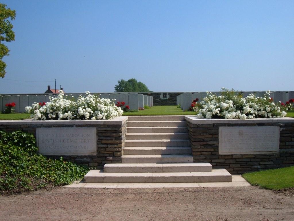 SAINS-LES-MARQUION BRITISH CEMETERY - CWGC