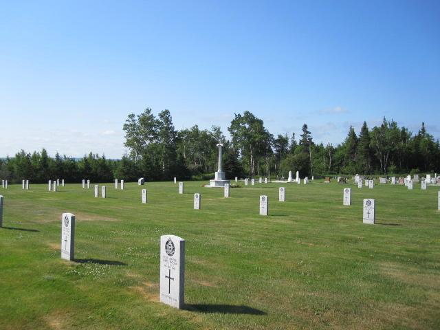 GANDER WAR CEMETERY - CWGC