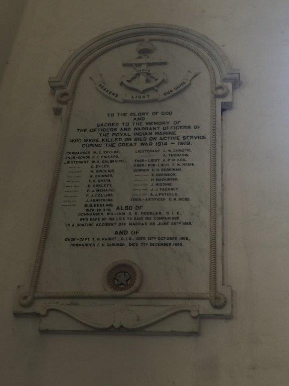 BOMBAY (ST. THOMAS) CATHEDRAL MEMORIAL, MUMBAI - CWGC