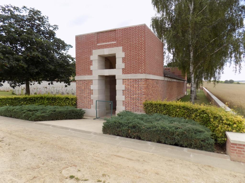 HEILLY STATION CEMETERY, MERICOURT-L'ABBE - CWGC