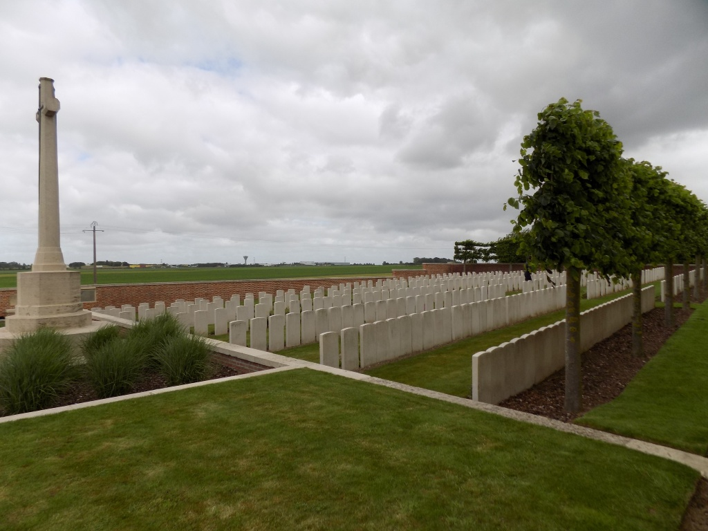 WINDMILL BRITISH CEMETERY, MONCHY-LE-PREUX - CWGC
