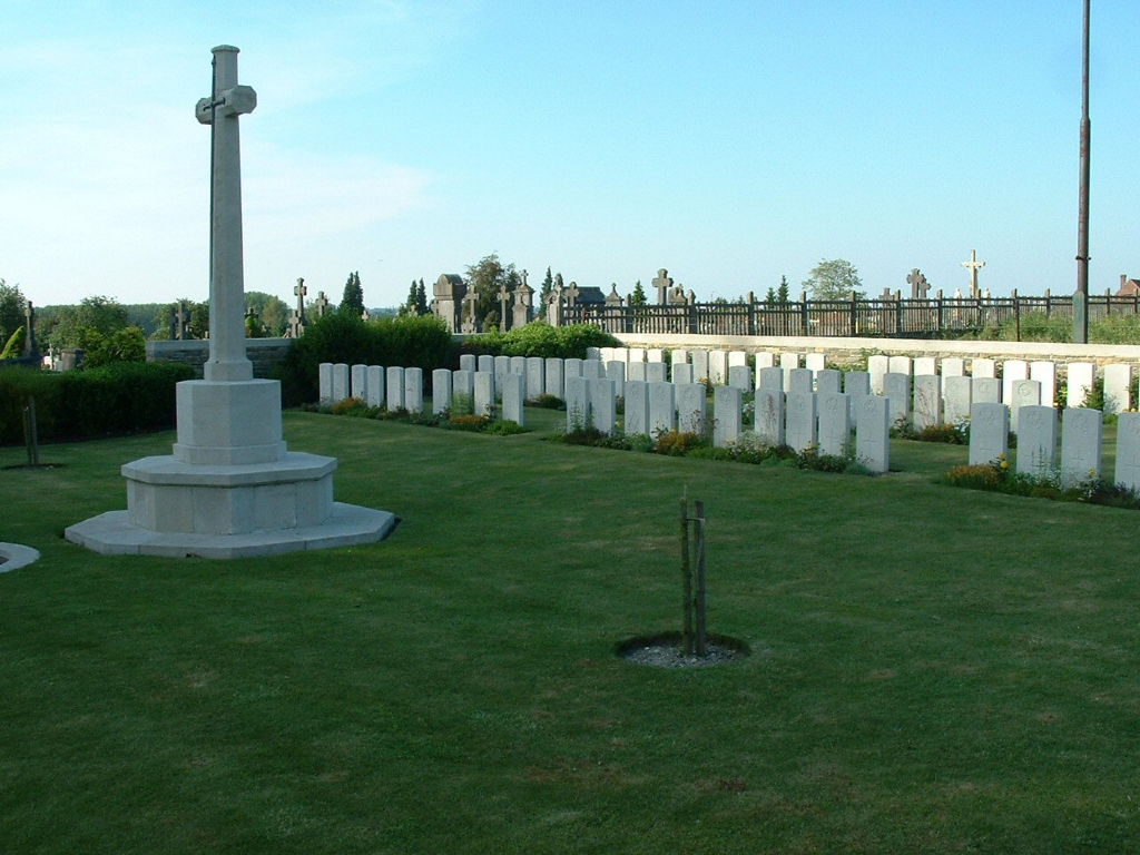 MAING COMMUNAL CEMETERY EXTENSION - CWGC
