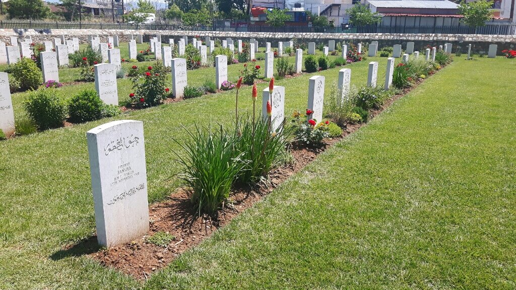 MONASTIR ROAD INDIAN CEMETERY - CWGC