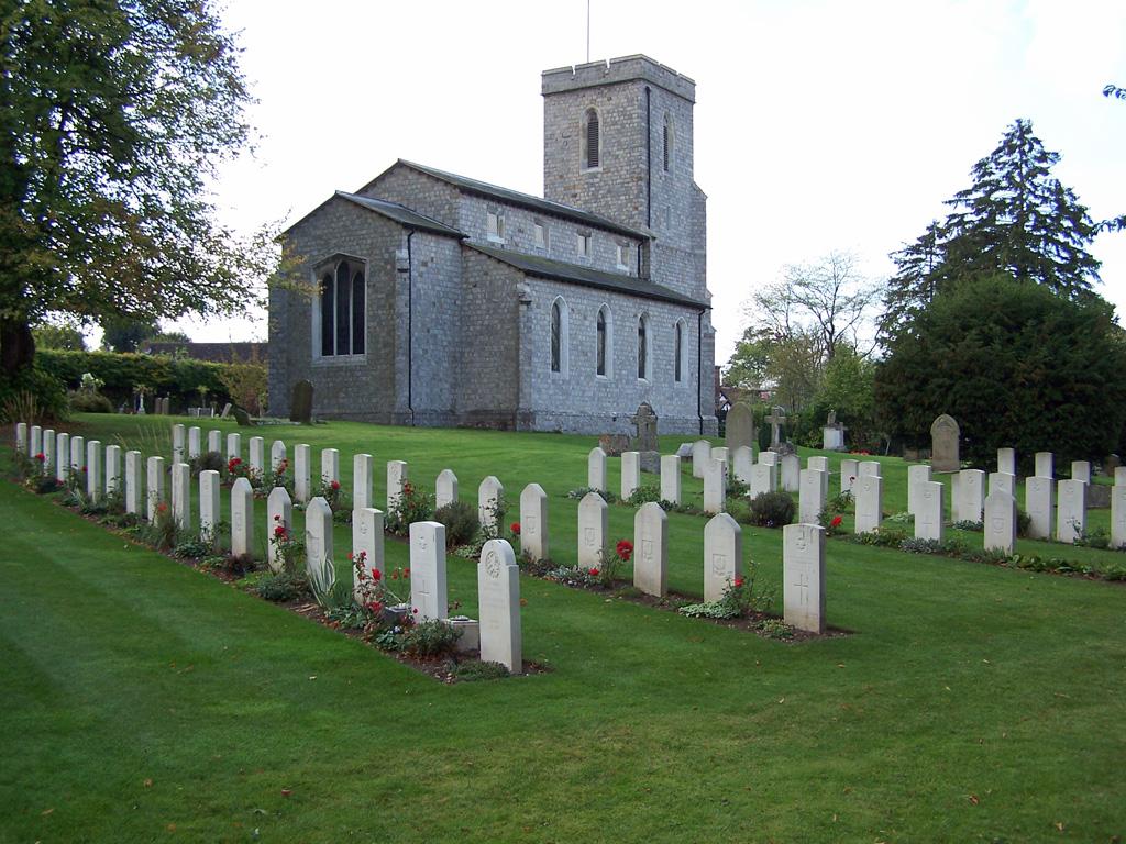 HALTON (ST. MICHAEL) CHURCHYARD - CWGC