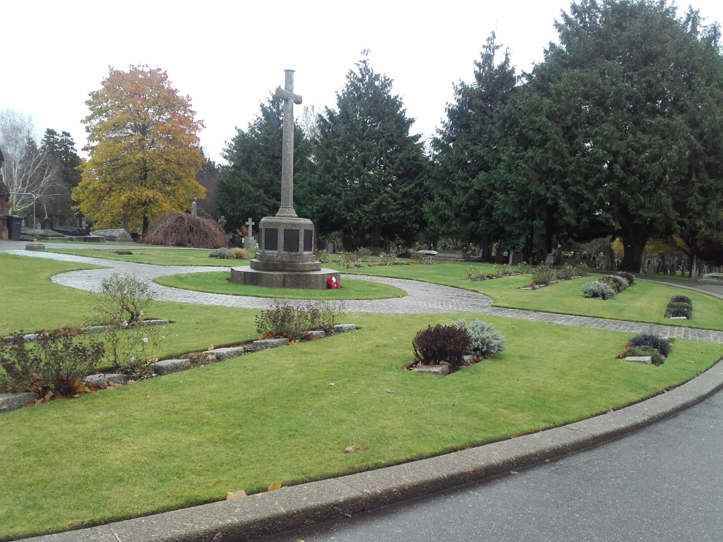 EXETER HIGHER CEMETERY - CWGC
