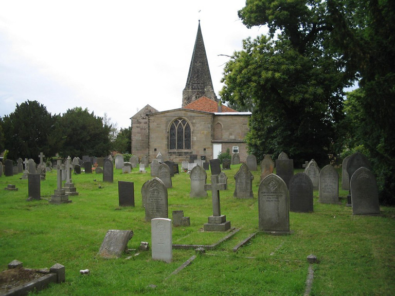 OCKBROOK (ALL SAINTS) CHURCHYARD - CWGC