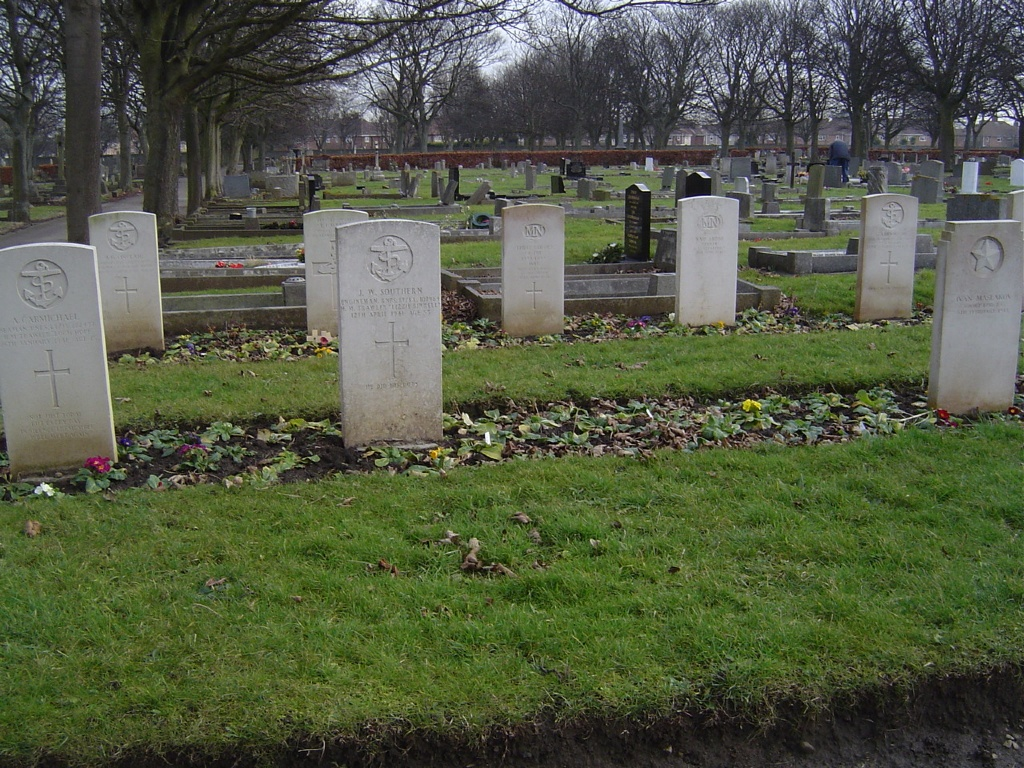 HARTLEPOOL WEST VIEW CEMETERY - CWGC