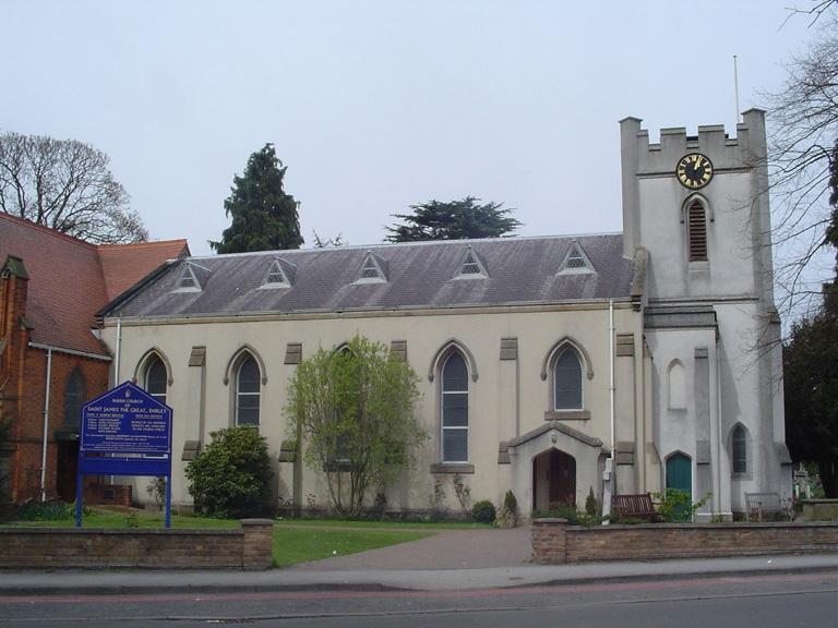 SHIRLEY (ST. JAMES) CHURCHYARD, SOLIHULL - CWGC