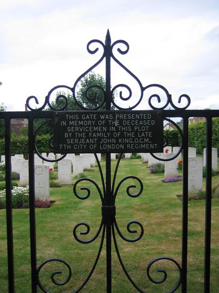 ORPINGTON (ALL SAINTS) CHURCHYARD EXTENSION - CWGC