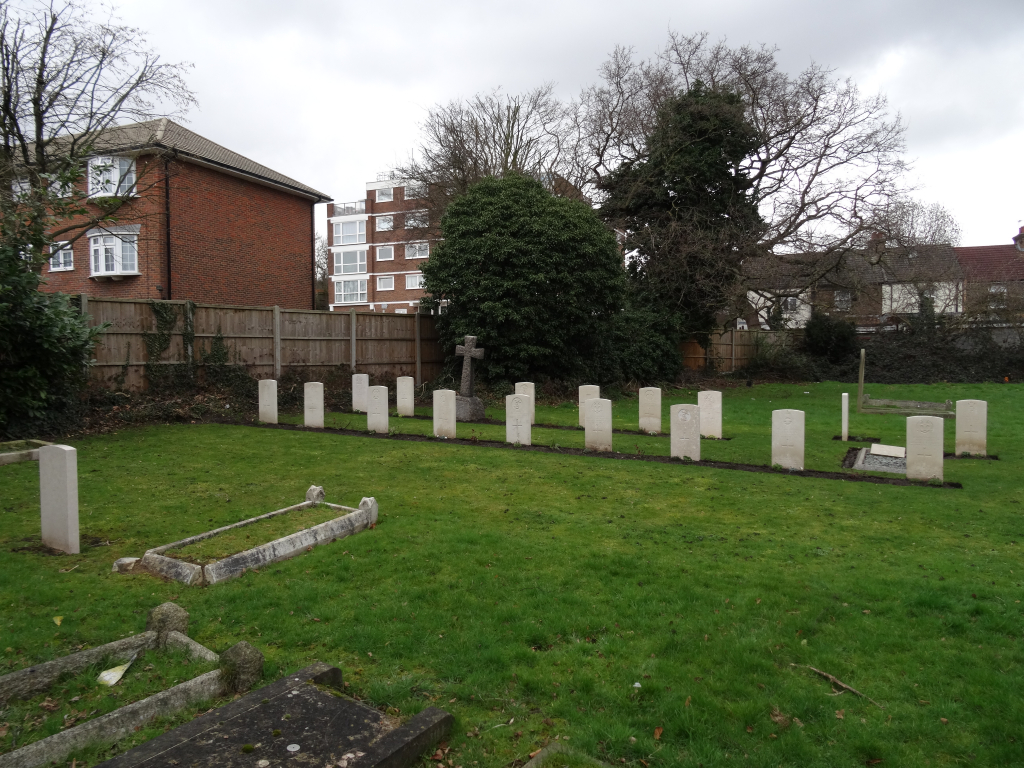 WEMBLEY OLD BURIAL GROUND - CWGC