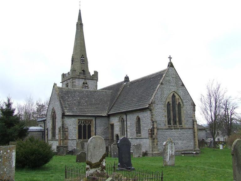 MONYASH (ST. LEONARD) CHURCHYARD - CWGC