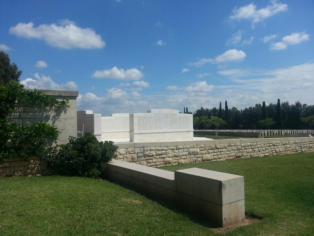 RAMLEH 1914-1918 MEMORIAL - CWGC