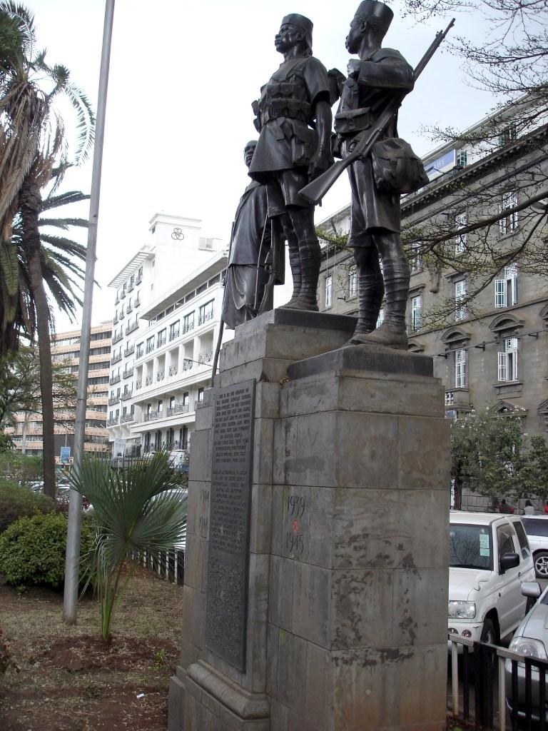 NAIROBI AFRICAN MEMORIAL - CWGC