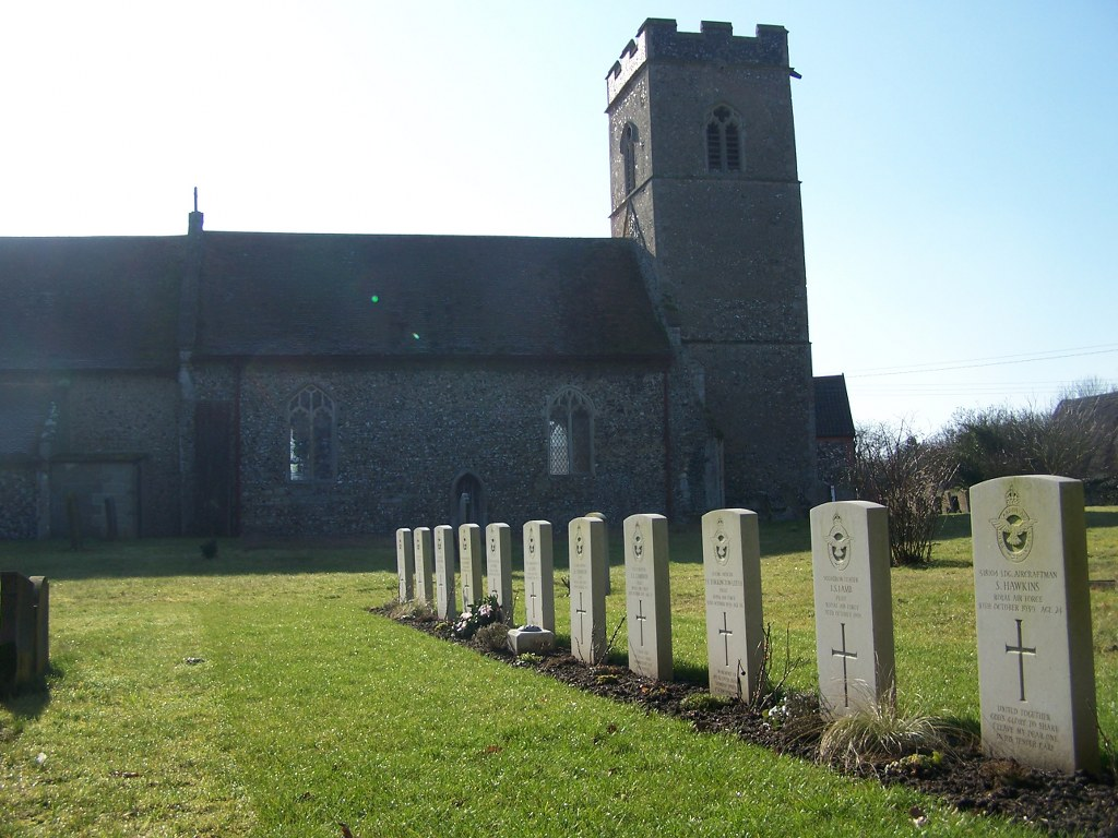 HONINGTON (ALL SAINTS) CHURCHYARD, SUFFOLK - CWGC