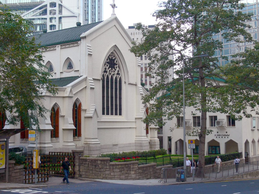 HONG KONG ST. JOHN'S CATHEDRAL GROUNDS - CWGC