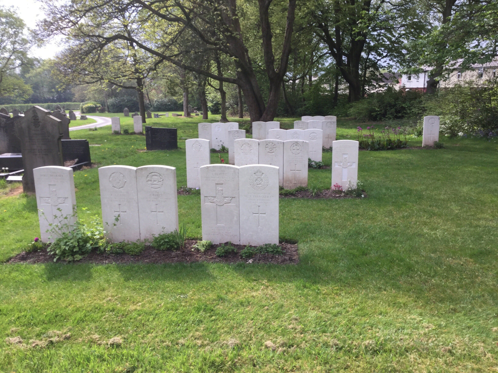 PRESTON (NEW HALL LANE) CEMETERY - CWGC