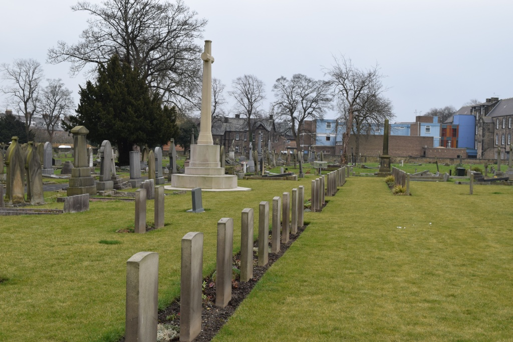 NEWCASTLE-UPON-TYNE (ST. ANDREW'S AND JESMOND) CEMETERY - CWGC