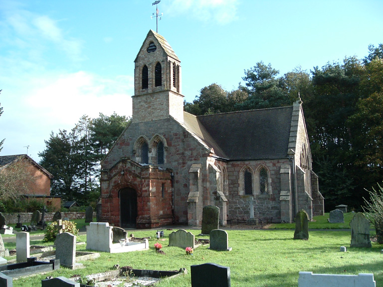 KNOCKIN (ST. MARY) CHURCHYARD - CWGC