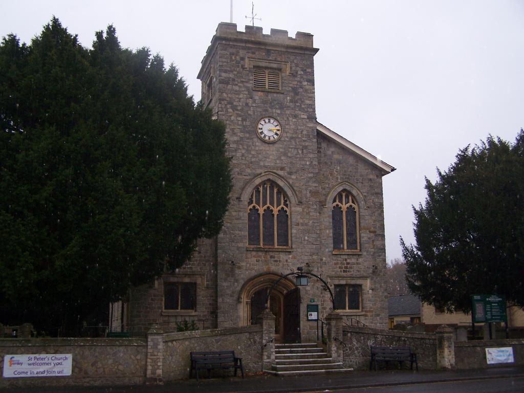FRIMLEY (ST. PETER) CHURCHYARD - CWGC