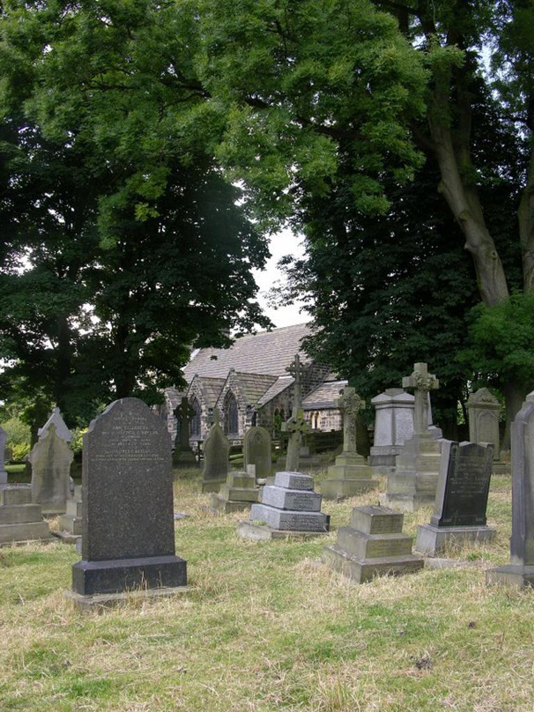 RAWDON (ST. PETER) CHURCHYARD - CWGC