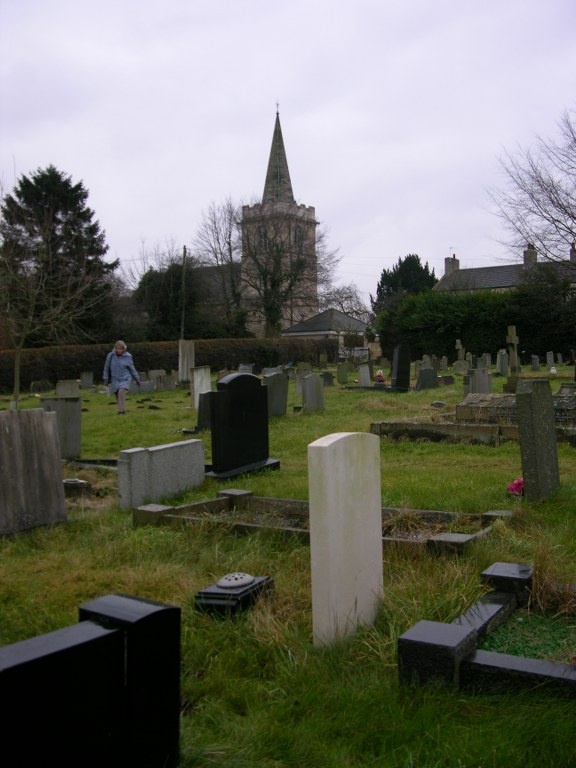 ABERFORD (ST. RICARIUS) CHURCHYARD AND EXTENSION - CWGC