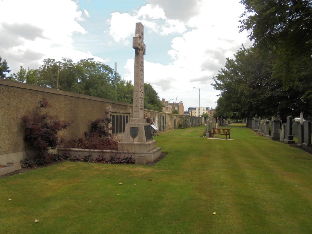 EDINBURGH (ROSEBANK) CEMETERY - CWGC