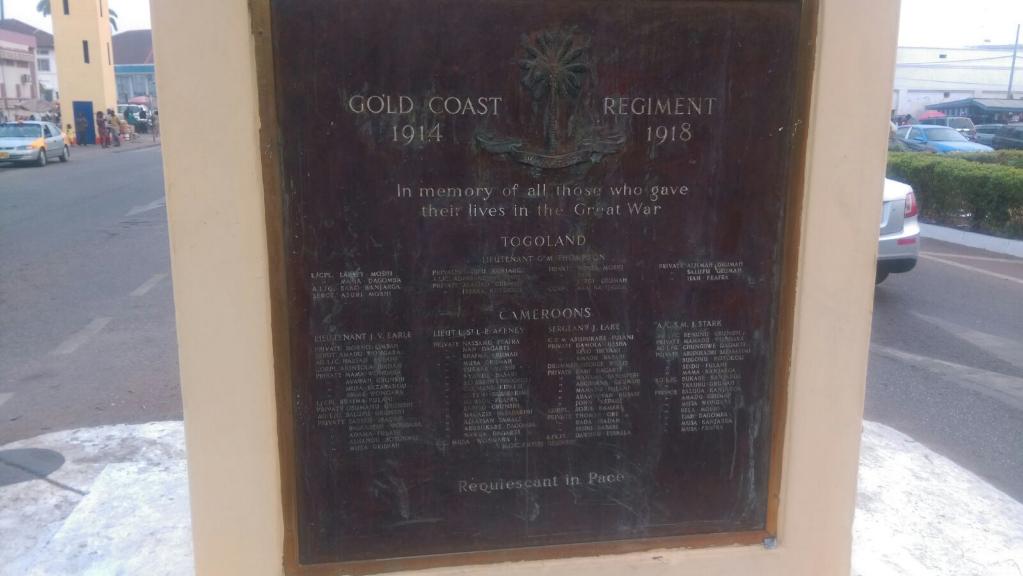 KUMASI MEMORIAL - CWGC