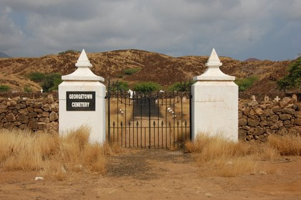 ASCENSION ISLAND NEW CEMETERY - CWGC