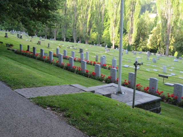NELSON MEMORIAL PARK - CWGC