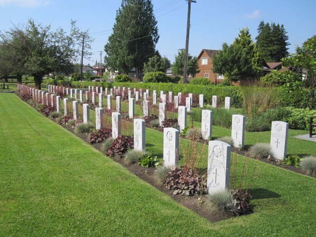 VANCOUVER (MOUNTAIN VIEW) CEMETERY - CWGC