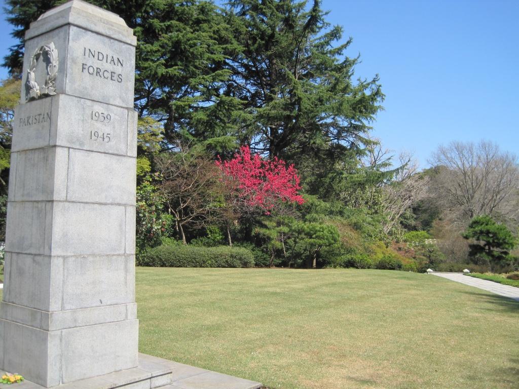 YOKOHAMA WAR CEMETERY - CWGC
