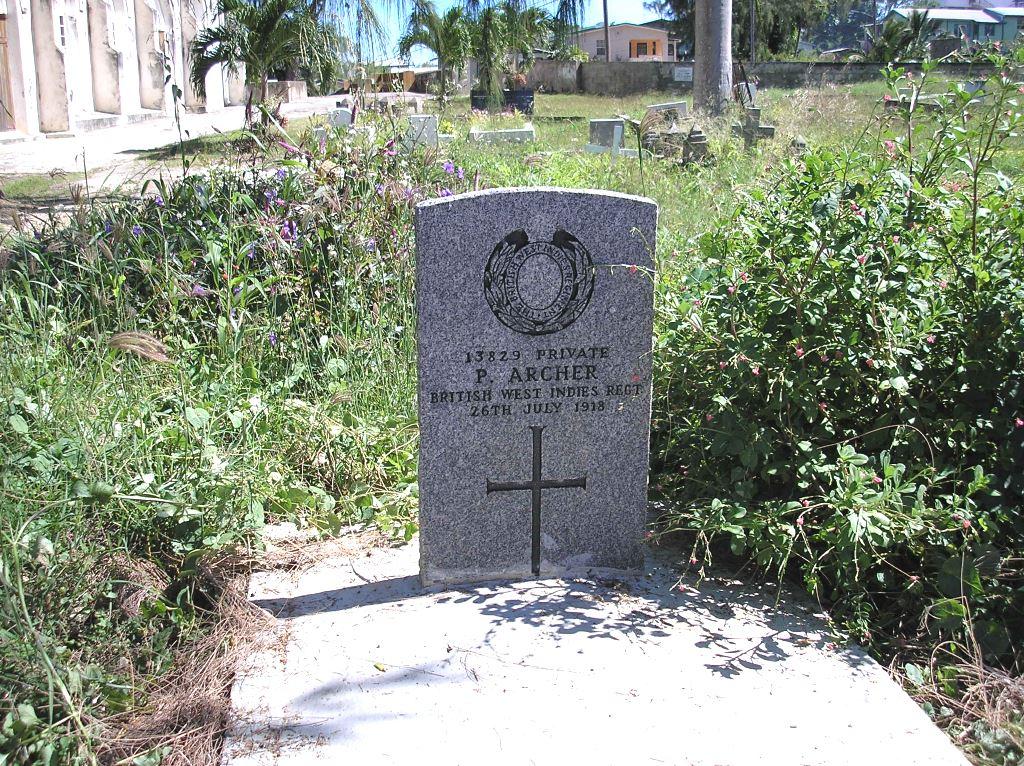 BOSCOBEL (ST. PHILIP THE LESS) CHAPELYARD, ST. PETER, BARBADOS - CWGC