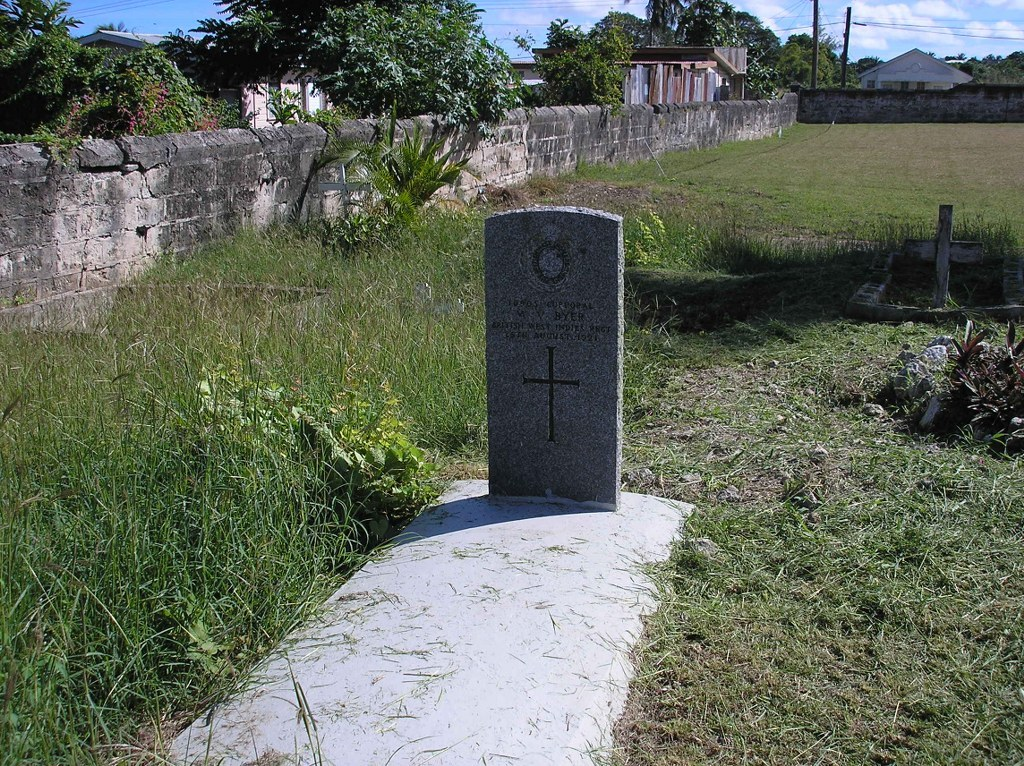 ST. BARNABAS CHURCHYARD, ST. MICHAEL, BARBADOS - CWGC