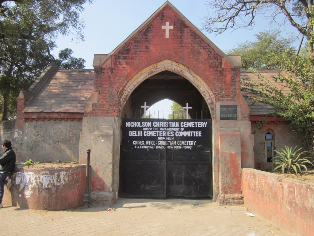 NICHOLSON CEMETERY, KASHMIR GATE, DELHI - CWGC