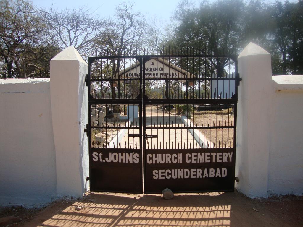 SECUNDERABAD CEMETERY - CWGC