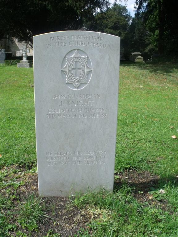 WHITMINSTER (ST. ANDREW) CHURCHYARD - CWGC