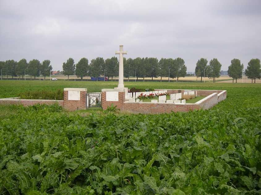 WIELTJE FARM CEMETERY - CWGC