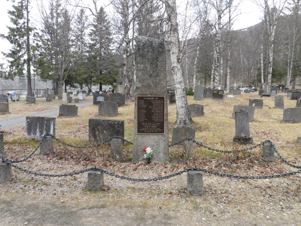 NARVIK OLD CEMETERY - CWGC
