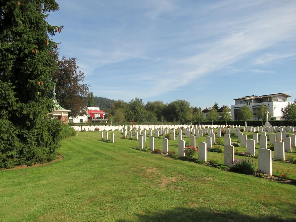 KLAGENFURT WAR CEMETERY - CWGC