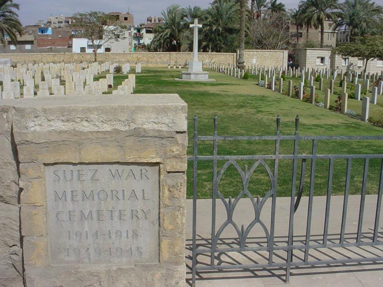 SUEZ WAR MEMORIAL CEMETERY - CWGC