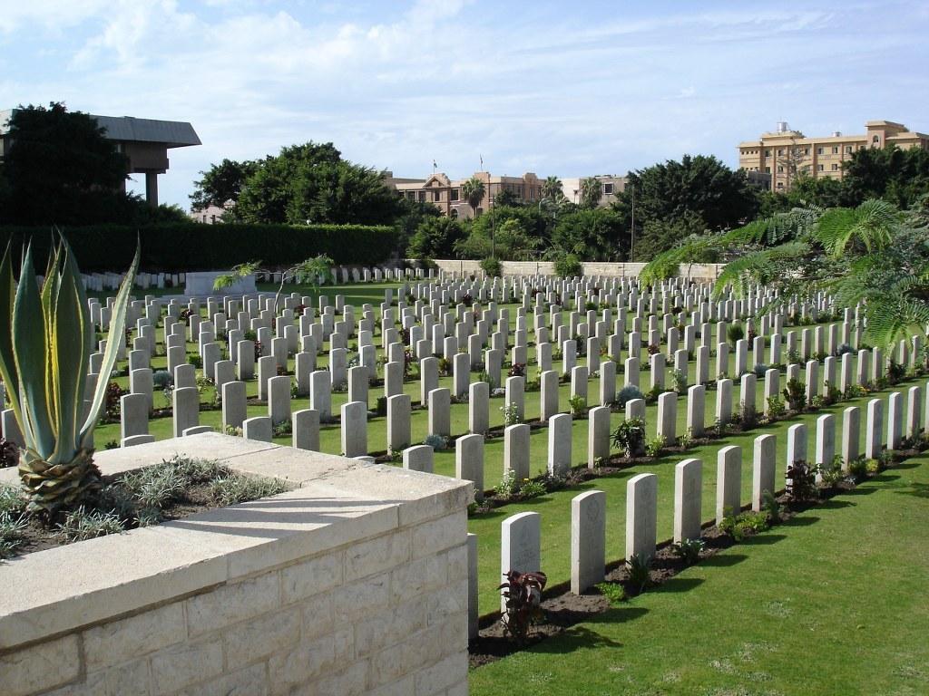 ALEXANDRIA (HADRA) WAR MEMORIAL CEMETERY - CWGC